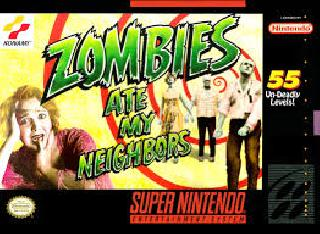 Screenshot Thumbnail / Media File 1 for Zombies Ate My Neighbors (USA) [Hack by Frank Maggiore v1.0] (~Ultimate Zombies Ate My Neighbors)